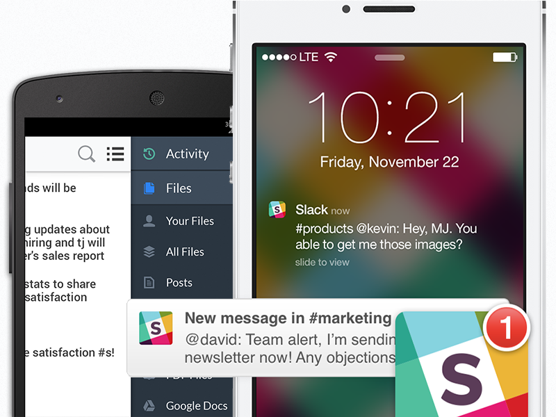 slack app notifications