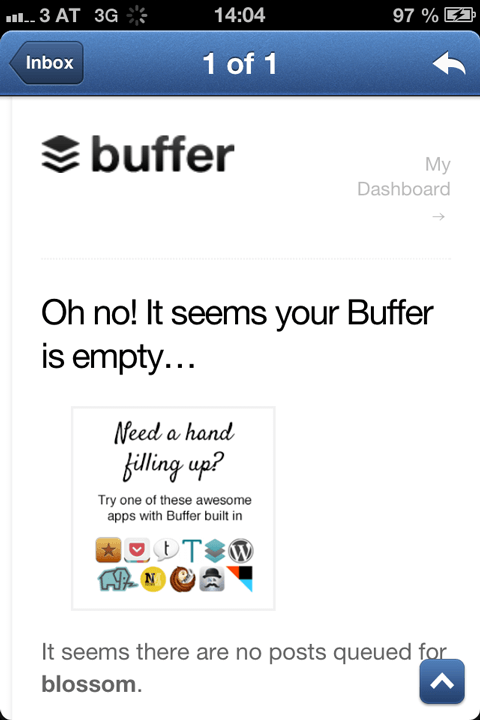 Buffer is empty