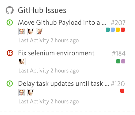GitHub Issues Preview
