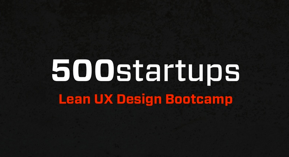 Lean UX Bootcamp