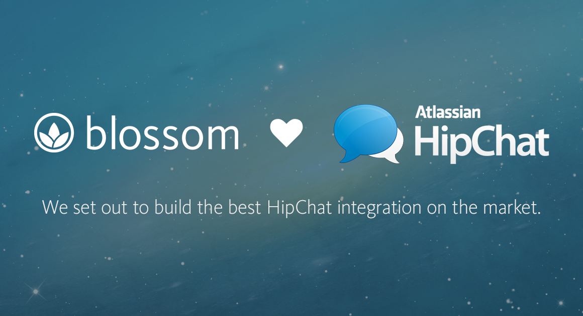 Take a Look at our new HipChat Integration