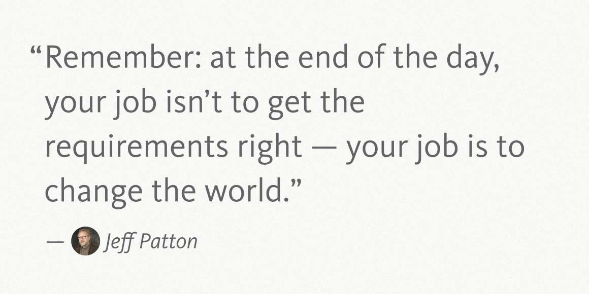 Jeff Patton Quote