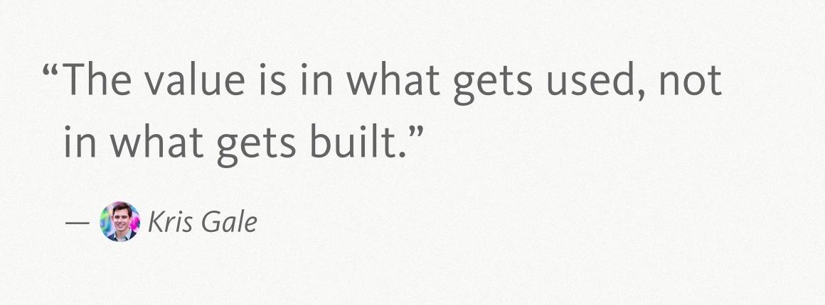 Kris Gale Quote