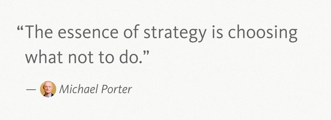 Michael Porter Quote