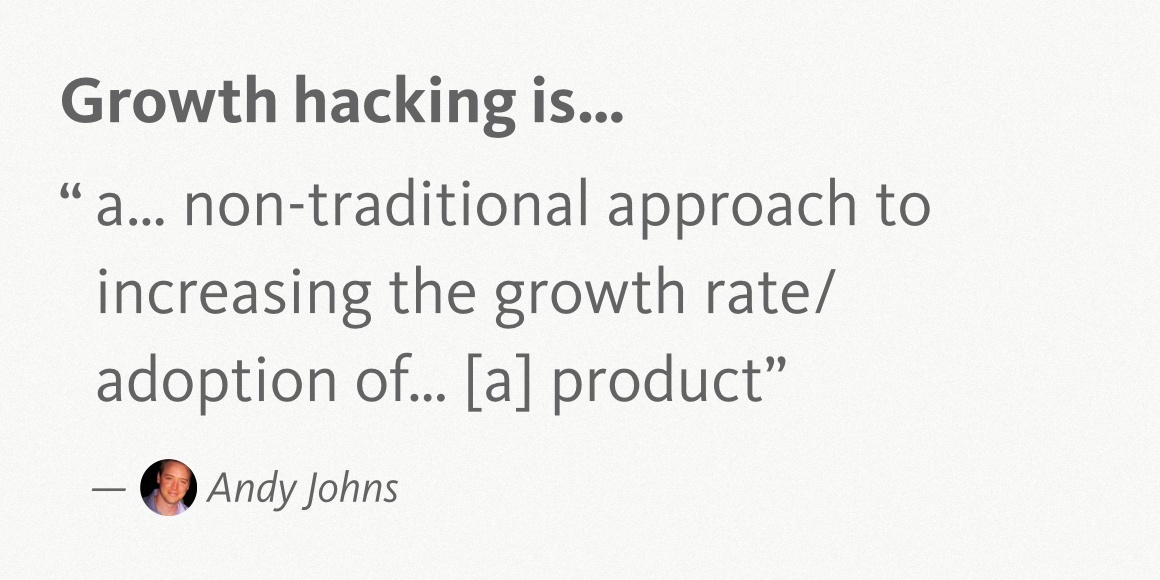 Andy Johns Growth Hacking