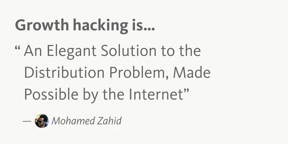 Mohamed Zahid Growth Hacking