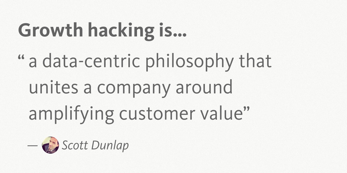 Scott Dunlap Growth Hacking