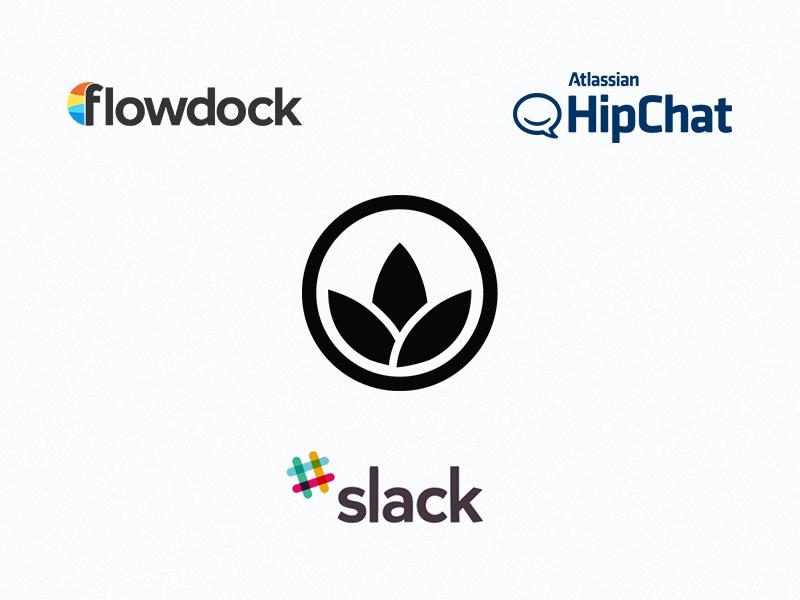 Slack, HipChat, Flowdock Integration