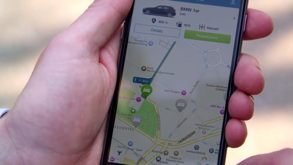 The DriveNow iOS App