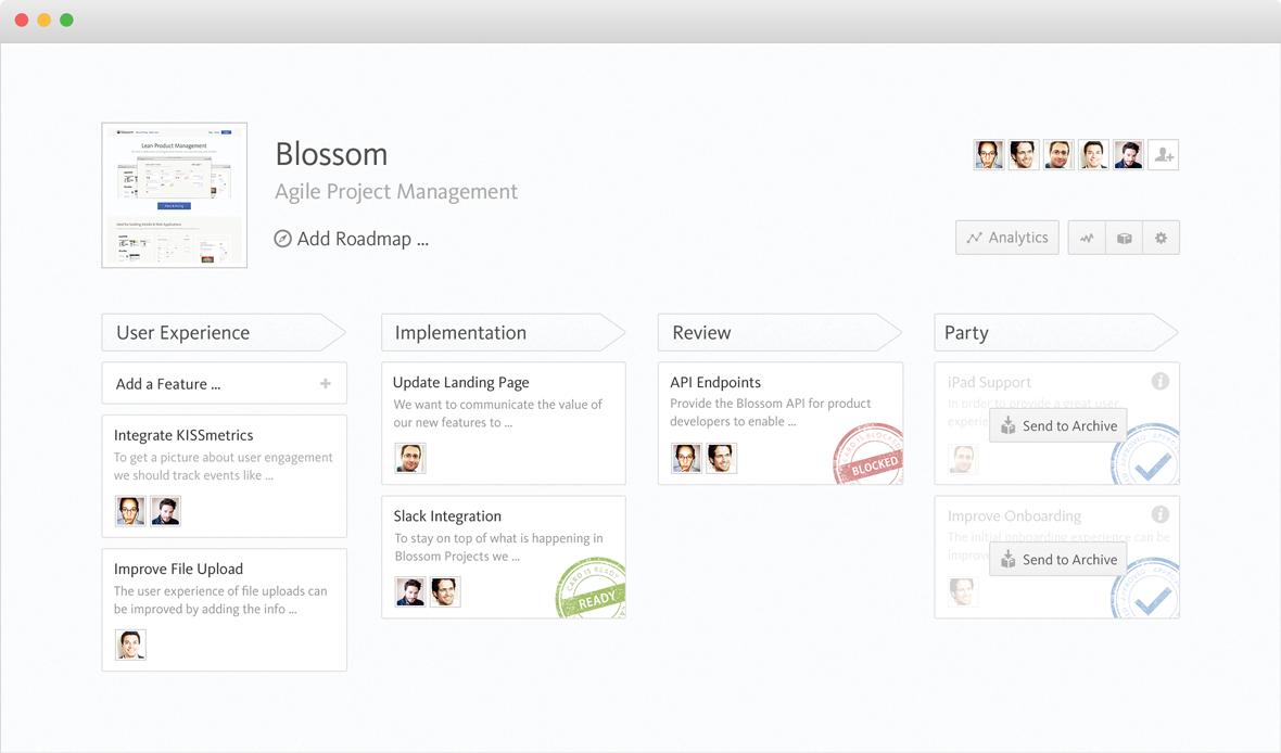 Blossom Workflow